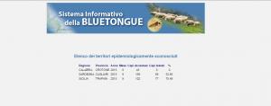 Elenco Dei Territori Epidemiologicamente Sconosciuti 2015.